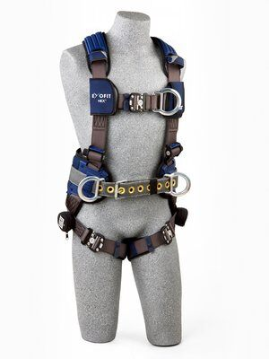 3M™ DBI-SALA® ExoFit NEX™ Construction Style Positioning/Climbing Harness 1113157, Large, 1 EA 3M Product Number 1113157, 3M ID 70007428447