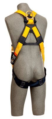 3M™ DBI-SALA® Delta™ Construction Style Harness, Loops 1103513, Universal, 1 EA 3M Product Number 1103513, 3M ID 70007409652 - BACK ON MANIKIN
