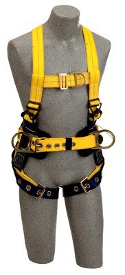 3M™ DBI-SALA® Delta™ Construction Style Positioning/Climbing Harness 1107801, Large, 1 EA 3M Product Number 1107801, 3M ID 70007413720 FRONT