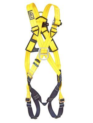 3M™ DBI-SALA® Delta™ Cross-Over Style Climbing Harness 1102010, Universal, 1 EA 3M Product Number 1102010, 3M ID 70007700241 - FRONT WITHOUT MANIKIN