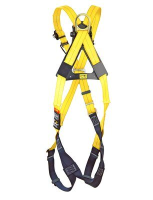 3M™ DBI-SALA® Delta™ Cross-Over Style Climbing Harness 1102010, Universal, 1 EA 3M Product Number 1102010, 3M ID 70007700241 - BACK WITHOUT MANIKIN