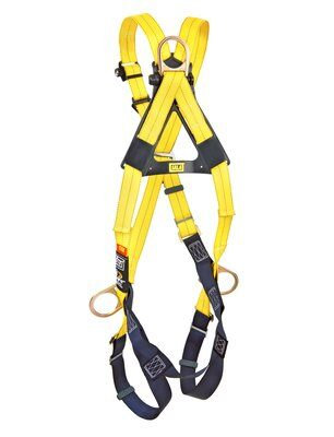 3M™ DBI-SALA® Delta™ Cross-Over Style Positioning/Climbing Harness 1103270, Universal, 1 EA 3M Product Number 1103270, 3M ID 70007700092 BACK WITHOUT MANKIN