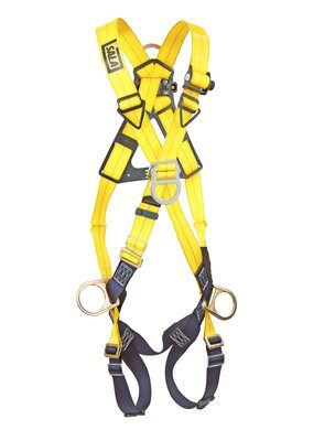 3M™ DBI-SALA® Delta™ Cross-Over Style Positioning/Climbing Harness 1103270, Universal, 1 EA 3M Product Number 1103270, 3M ID 70007700092 FRONT WITHOUT MANKIN