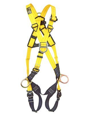 3M™ DBI-SALA® Delta™ Cross-Over Style Positioning/Climbing Harness 1110725, Universal, 1 EA 3M Product Number 1110725, 3M ID 70007417044 - FRONT WITHOUT MANIKIN