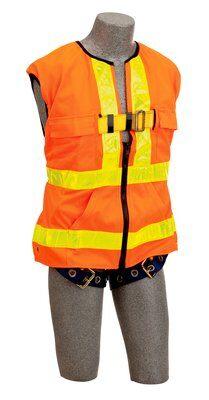 3M™ DBI-SALA® Delta Vest™ Hi-Vis Reflective Workvest Harness 1107404, Universal, 1 EA 3M Product Number 1107404, 3M ID 70007413589 FRONT