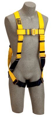 3M™ DBI-SALA® Delta™ Construction Style Harness, Loops 1103513, Universal, 1 EA 3M Product Number 1103513, 3M ID 70007409652 - FRONT ON MANIKIN