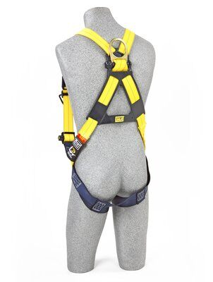 3M™ DBI-SALA® Delta™ Vest-Style Harness 1110600, Universal, 1 EA 3M Product Number 1110600, 3M ID 70007707022 BACK WITH MANIKIN