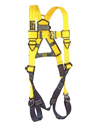 3M™ DBI-SALA® Delta™ Vest-Style Harness 1110600, Universal, 1 EA 3M Product Number 1110600, 3M ID 70007707022 FRONT WITHOUT MANIKIN