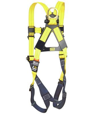 3M™ DBI-SALA® Delta™ Vest-Style Harness 1110600, Universal, 1 EA 3M Product Number 1110600, 3M ID 70007707022 BACK WITHOUT MANIKIN