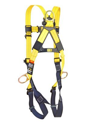 3M™ DBI-SALA® Delta™ Vest-Style Positioning Harness 1110625, Universal, 1 EA 3M Product Number 1110625, 3M ID 70007416988 BACK WITHOUT MANIKIN