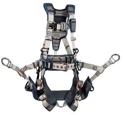 3M™ DBI-SALA® ExoFit STRATA™ Tower Climbing Harness 1112581, Medium, 1 EA
