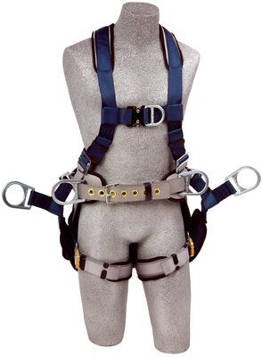 3M™ DBI-SALA® ExoFit™ Tower Climbing Harness 1108650, Small, 1 EA front