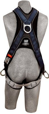 3M™ DBI-SALA® ExoFit™ Cross-Over Style Positioning Climbing Harness 1108700, Small, 1 EA - Back