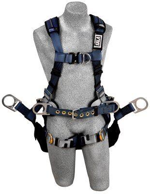 3M™ DBI-SALA® ExoFit™ XP Tower Climbing Harness 1110302, Large, 1 EA