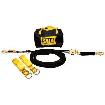 3M™ DBI-SALA® Sayfline™ Synthetic Horizontal Lifeline System 7600502, 1 ea