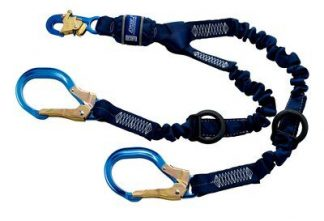 3M™ DBI-SALA® Force2™ Elastic 100% Tie-Off Shock Absorbing Lanyard 1246032, 1 EA 3M Product Number 1246032, 3M ID 70007434031
