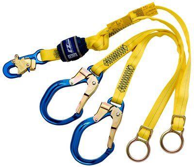 3M™ DBI-SALA® EZ-Stop™ Tie-Back 100% Tie-Off Shock Absorbing Lanyard 1246071, 1 EA 3M Product Number 1246071, 3M ID 70007434262