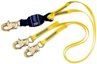 3M™ DBI-SALA® Force2™ 100% Tie-Off Shock Absorbing Lanyard 1246161, 1 EA 3M Product Number 1246161, 3M ID 70007446118