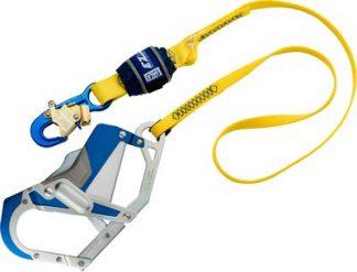 3M™ DBI-SALA® EZ-Stop™ Shock Absorbing Lanyard 1246411, Yellow, 1 EA 3M Product Number 1246411, 3M ID 70804440496