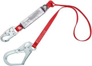 Our PRO™ Pack shock absorbing lanyards provide high quality compliance at an economical price and are trusted by workers. They feature durable webbing and plated alloy steel hardware for strength and corrosion resistance. PRO™ Pack lanyards feature a controlled tearing action when subjected to a fall, reducing the forces imposed on the user to safe levels and stopping the fall. In addition, PRO™ lanyards are lightweight and provide added comfort and safety. Various styles, lengths and hooks options are available to suit your specific jobsite needs.