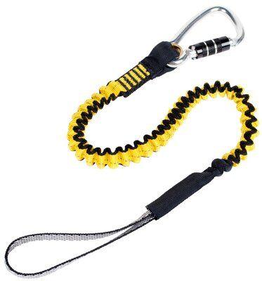 3M™ DBI-SALA® Hook2Loop Bungee Tool Tether, Medium Duty 1500049, 1 EA 3M Product Number 1500049, 3M ID 70007449062 - Bungee tool tether, 35 lb. (15.9kg) capacity, locking carabiner.