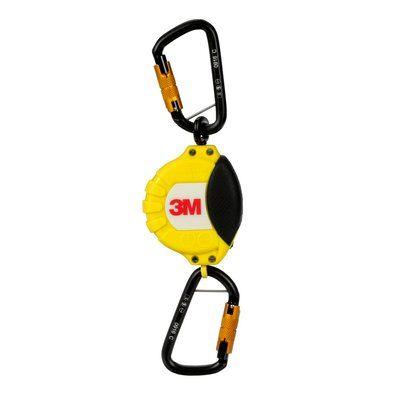 3M™ DBI-SALA® 5 lb. Tool Retractor 1500156, 1 EA - Retractable tool lanyard, 5 lb. (2.3 kg) capacity, single leg with self-locking carabiner hooks at both ends.
