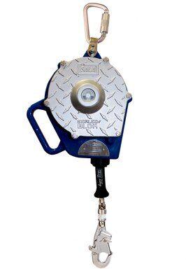 3M™ DBI-SALA® Sealed-Blok™ Self Retracting Lifeline, Retrieval, Rope 3400840, 30 ft. (9.1m), 1 EA - 30 ft. (9m) of Technora® aramid rope with retrieval function, swivel snap hook, mounting bracket and equipment bag.