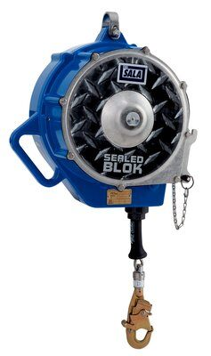 3M™ DBI-SALA® Sealed-Blok™ Self Retracting Lifeline, Retrieval/Bracket, Cable 3400976, 130 ft. (39m), 1 EA