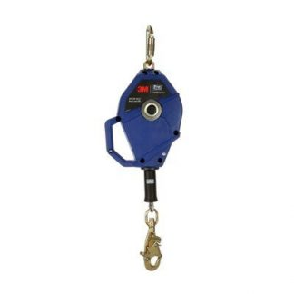 "3M™ DBI-SALA® Smart Lock Self-Retracting Lifeline 3503800, Galvanized Cable, Blue, 30 ft. (10m) 1 Ea/Case - 30 ft. (10m) of 3/16"" (5mm) galvanized steel cable lifeline"