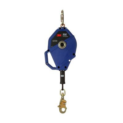 "3M™ DBI-SALA® Smart Lock Self-Retracting Lifeline 3503820, Rope, Blue, 35 ft. (11m) - 35 ft. (11m) of 3/16"" (5mm) Vectran™ rope lifeline"
