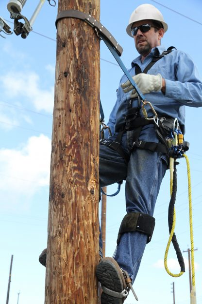 3M Fall Protection DBI-SALA Pole climbers - Applications for utilities