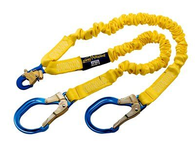3M™ DBI-SALA® ShockWave™2 100% Tie-Off Shock Absorbing Lanyard 1244409, 1 EA 3M Product Number 1244409, 3M ID 70007441770
