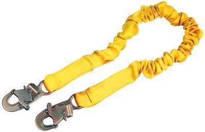 1244306 - ShockWave™2 Shock Absorbing Lanyard, 6 ft. Single Leg - Connections: Snap Hook / Snap Hook