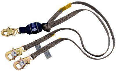 3M™ DBI-SALA® Force2™ Tie-Back 100% Tie-Off Shock Absorbing Lanyard 1246075, 1 EA 3M Product Number 1246075, 3M ID 70007444956