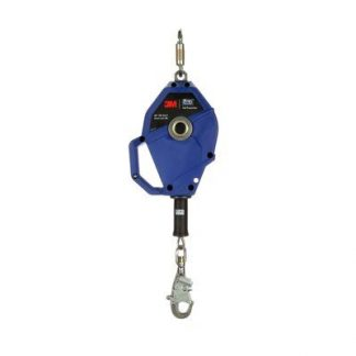 """3M™ DBI-SALA® Smart Lock Self-Retracting Lifeline 3503804, Stainless Steel Cable, Blue, 20 ft. (6m) 1 Ea/Case - 20 ft. (6m) of 3/16"""" (5mm) stainless steel cable lifeline"""