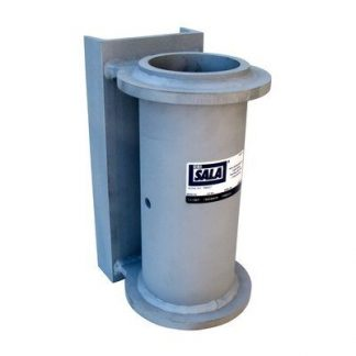 3M™ DBI-SALA® SecuraSpan™ Fasten-in-Place HLL Weld-on Vertical Base 7400222, 1 ea 3M Product Number 7400222, 3M ID 70007489191