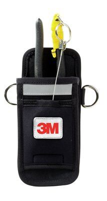 3M™ DBI-SALA® Single Tool Holster with Retractor, Harness 1500104, 1 EA Single tool harness holster with retractor.