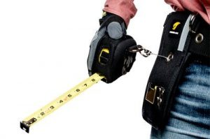 3M™ DBI-SALA® Tape Measure Holster with Retractor 1500098, 1 EA 3M Product Number 1500098, 3M ID 70007438941 with sleeve and tape measure