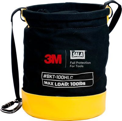3M™ DBI-SALA® Safe Bucket 100 lb. Load Rated Drawstring Canvas 1500133, 1 EA 3M Product Number 1500133, 3M ID 70007439113 - Canvas bucket with drawstring closure system, 100 lb. (45.4 kg) capacity