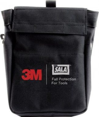 3M™ DBI-SALA® Tool Pouch with D-ring 1500124, 1 EA 3M Product Number 1500124, 3M ID 70007439063 - Tool pouch with D-ring connection points.
