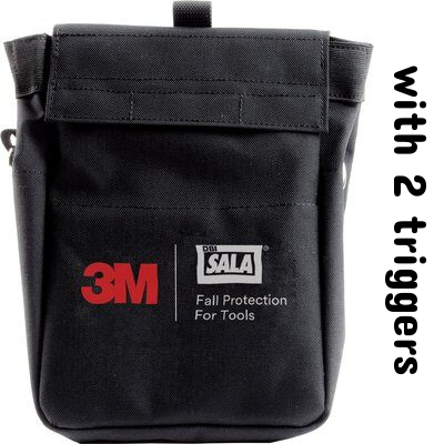 3M™ DBI-SALA® Tool Pouch Extra Deep with D-ring 1500127, 1 EA 3M Product Number 1500127, 3M ID 70007439089