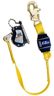 "3M™ DBI-SALA® Lad-Saf™ Mobile Rope Grab with Attached EZ-Stop™ 5002045, 1 ea 3M Product Number 5002045, 3M ID 70007465894 - Mobile rope grab with 3 ft. (0.9 m) shock absorbing lanyard for use on 5/8"" (16 mm) rope lifeline."