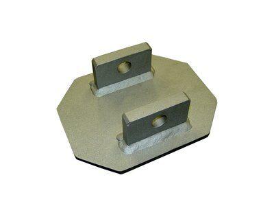 3M™ DBI-SALA® Bare Steel Uni-Anchor 8510816, 1 EA , Bare steel uni-anchor for the portable fall arrest post.