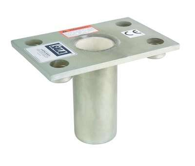 3M™ DBI-SALA® Floor Mount Sleeve Davit Base 8512827, 1 EA 3M Product Number 8512827, 3M ID 70007492542 - loor mount sleeve davit base, flush mount design, stainless steel, for the offset davit mast.