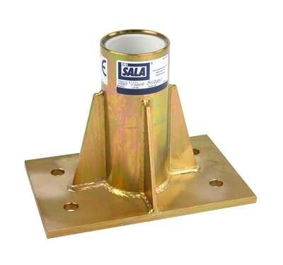 3M™ DBI-SALA® Center Mount Sleeve Davit Base 8512831 3M Product Number 8512831, 3M ID 70007492567 - Center mount sleeve davit base, zinc plated, for the offset davit mast.