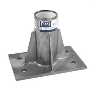 3M™ DBI-SALA® Confined Space Center Mount Sleeve Davit Base 8516563, 1 EA 3M Product Number 8516563, 3M ID 70007494985 - Center mount sleeve davit base, stainless steel, for the confined space offset davit mast.