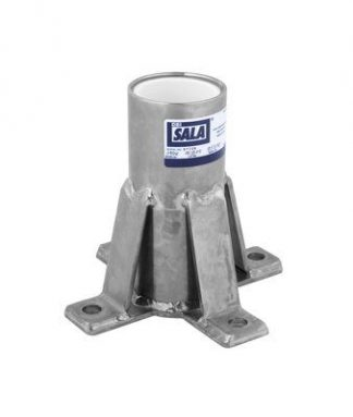 3M™ DBI-SALA® Floor Mount Sleeve Davit Base 8518347, 1 EA 3M Product Number 8518347, 3M ID 70007496410 - Floor mount sleeve davit base, stainless steel, for confined space offset davit mast.
