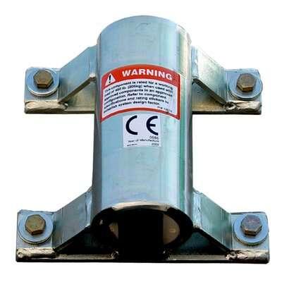 3M™ DBI-SALA® Confined Space Wall Mount Sleeve Davit Base 8518348 3M Product Number 8518348, 3M ID 70007496725 - Wall mount sleeve davit base, stainless steel, for confined space offset davit mast.