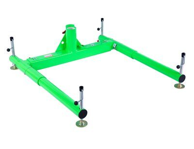 3M™ DBI-SALA® Confined Space 3-Piece Portable Davit Base 8518005, 1 ea 3M Product Number 8518005, 3M ID 70007496345 - 3-piece portable davit base for 27-1/2 in. (69.8 cm) maximum offset davit mast.