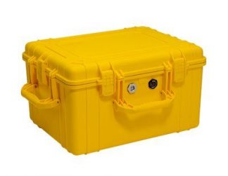 Humidity resistant case for Rollgliss™ R550 rescue and descent device, fits up to 500 ft. (153 m) system. - 3M™ DBI-SALA® Rollgliss™ R550 Humidity Resistant Case 9508289, Yellow, 1 EA